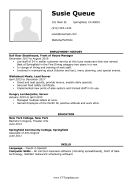 Detailed CV with Picture (A4)