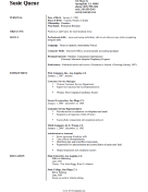 Nursing CV Template (A4)