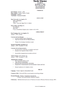 Scholarly CV Template (A4)