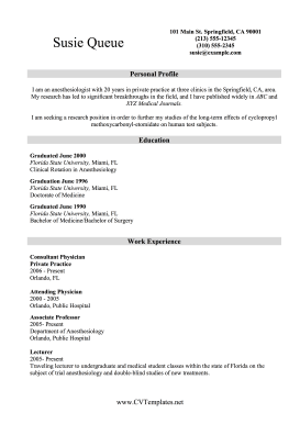 CV With Publications A4