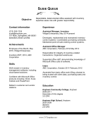 Office Assistant CV